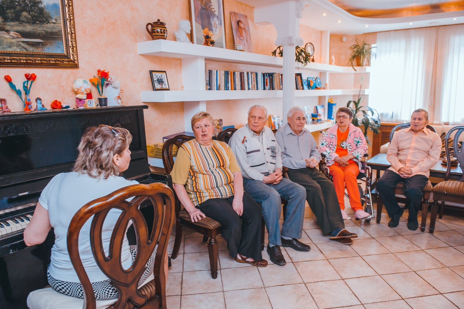 Практика дом престарелых инвалидов сценарий дня пожилого человека в интернате