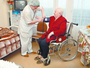 Частный дом престарелых «Солнечный парк» предоставляет услуги медсестры Украина, а также услуги няни (санитарки)