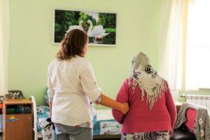 дом престарелых в Киеве, гериатрический пансионат, хоспис, уход за пожилыми, инсульт