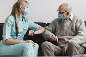 лихорадка, одышка, расстройство психики, ковид, covid-19, коронавирус у пожилых